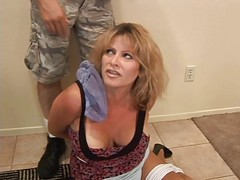 More Woman Gagged