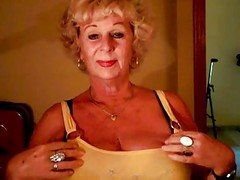 Granny Andrea Shows Her Juicy Ti...