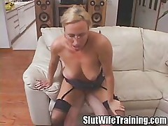 Teacher Gets A Slut Training Les...