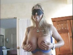 Wife Blindfold And His Friend