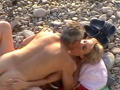 Hidcams Rus Beach Couple 12 - Nv