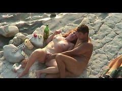 Hidcams Rus Beach Couple  Orgasm Girl 11 - Nv