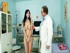 Busty Adriana Gets An Exam With...