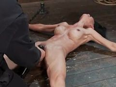 Incredible Asian Bound To The Floor