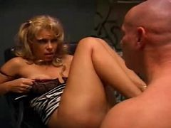 Blonde Milf Gets Fucked In A Dirty Bathroom