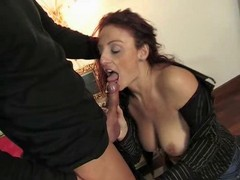 Mature Italian Beauty Getting Pu...