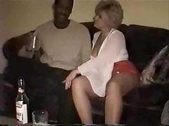 Drunk Swinger Wife Slut Creampied By Black Man