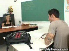 Hot Blonde Teacher Fucked Hard