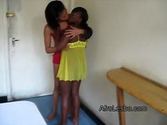 Aisha And Lisha Have Their First Lesbian Experience