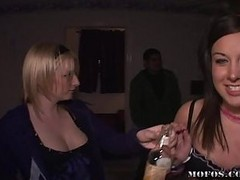 Busty Asian Slut Fucked In This Sex Party